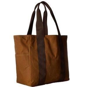Filson Bags - FILSON Grab 'N' Go Medium Tote Bag Dark Tan Brown